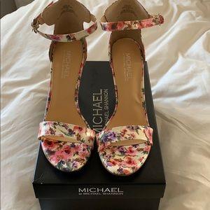 MOVING SALE!! Floral Heels